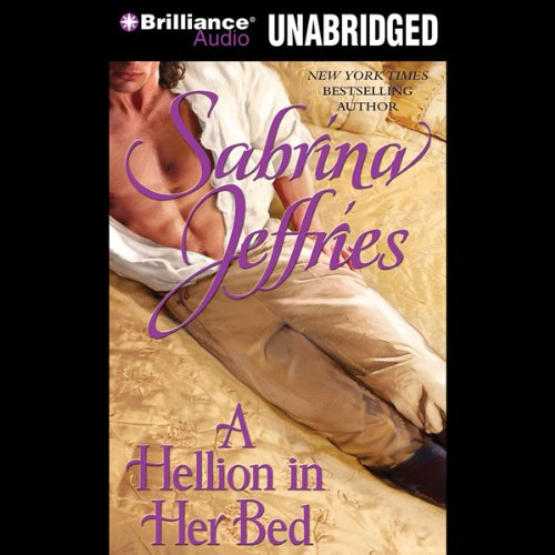 A Hellion in Her Bed audiobook cover art