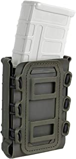 KRYDEX 5.56mm 7.62mm Mag Pouch M4 M16 Magazine Pouch Tactical Softshell Mag Carrier with Molle Clip