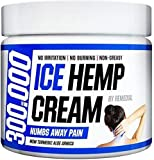 НЕМР Ice Pain Relief Cream 300 000 MG – Foot, Knee, Joint, Fingers and Neck Inflammation Therapy – Natural Oil Extract Remedy with MSM and Arnica – 2 fl. Oz