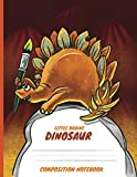 Stegosaurus, Little Brainy Dinosaur 100 Pages Composition Notebook, The Perfect Primary Journal for Grade K-2 and Your Kids!: Little Brainer Dinosaur Book Set for Kids,