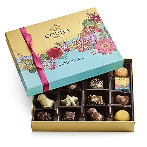 Godiva Chocolatier Spring Assorted Chocolate Gift Box, 16-Ct. from AmazonUs/GODMR