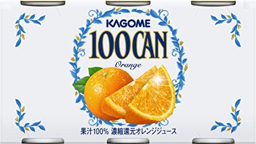 カゴメ 100CAN オレンジ 缶160g