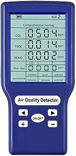 Matobuy 空気測定器 マルチテスター 空気汚染測定器 空気質検出器 空気品質モニター デジタルLCD ホルムアルデヒド検出器 HCHO/TVOCなどテスター AQI空気質モニター ガス分析計 (JSM-132)