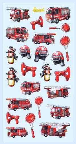 Creapop Sticker Softysticker * Feuerwehr * Aufkleber