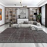 Kunsen Suciedad sin Deslizamiento, geometría fácil de Limpiar, Moderna, Alfombra Completa-PS_50x80cm alfombras Rebajas alfombras de habitacion Infantil 1ft 8''X2ft 7'' Alfombra dormitorio50X80CM