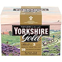 6-Pack Taylors of Harrogate Yorkshire Gold Teabags