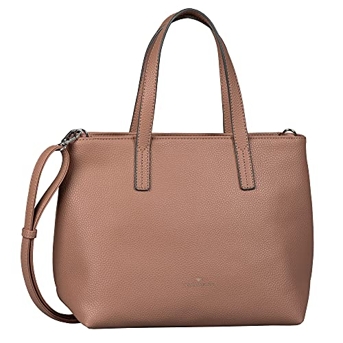TOM TAILOR bags MAXI Damen Shopper M, rosewood, 33x14x23