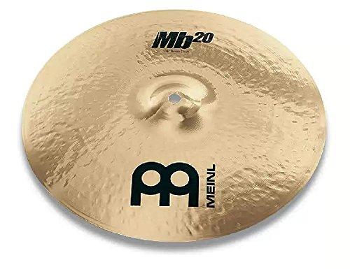 Meinl Cymbals MB20-17HC-B MB20 Serie 43,1 cm (17 Zoll) Heavy Crash Brilliant Becken