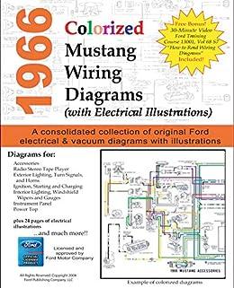1966 Colorized Mustang Wiring Diagrams, Motor Company, Ford, eBook -  Amazon.com | Ford Motor Company Wiring Diagrams |  | Amazon.com
