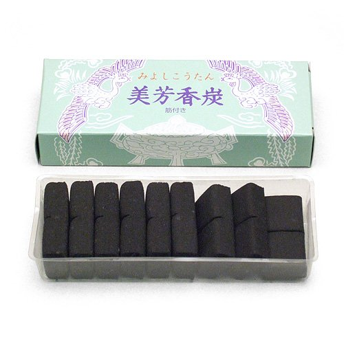 焼香用香炭(箱巾13cm×奥行5cm)◆法事に便利な...