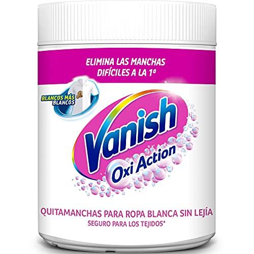 Vanish Oxi Action Quitamanchas y Blanqueador Polvo para Ropa Blanca - 900 gr