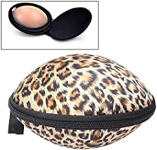 ZD-DZ Portable Protect Leopard Prints Bra Molded Storage Bag Travel Organizer Bra Bag