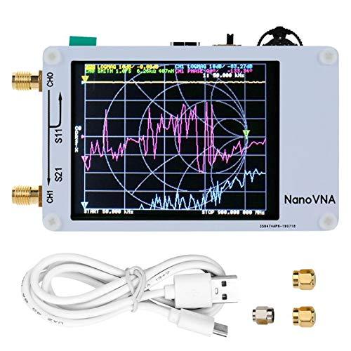 LLAni - Analizzatore Digitale di Rete da 50 kHz-900 MHz Bianco