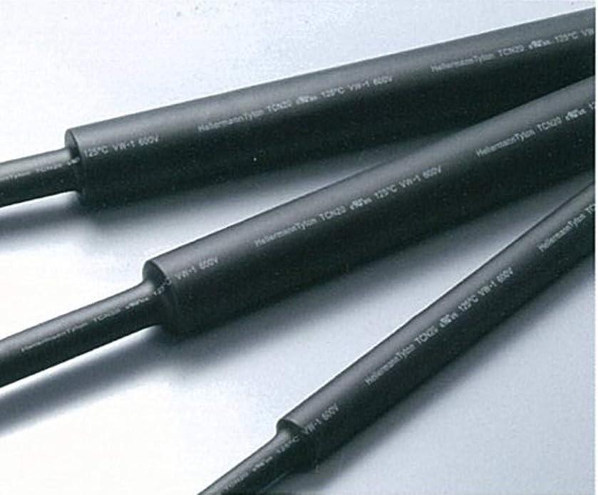 悲しいウォルターカニンガムテニスポリオレフィン熱収縮チューブ TCN20-15.0-BK1 黒 単位:5本入