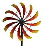 Exner WINDRAD ART FERRO Sonne METALL artferro WINDSPIEL GARTENSTECKER 39 x 11,5 x 168 cm