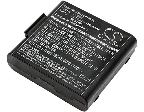 Battery Replacement for Sokkia SHC5000 25260 Record -  RECORDCS-JUP700XL_113