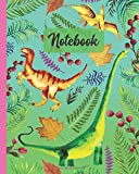 "Notebook: Velociraptor / Pterosaur / Mamenchisaurus Dinosaur - Prehistoric Creatures Diary / Notes / Track / Log / Journal , Book Gifts For Women Men Kids Teens Girls Boys Friends 8x10"" 110 Pages"