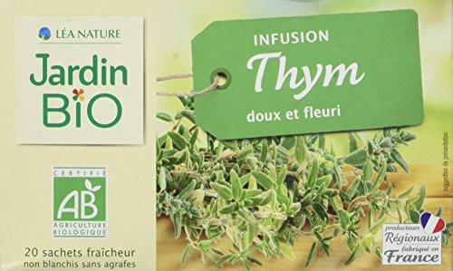 Jardin Bio Infusion Thym 28 g - Lot de 4