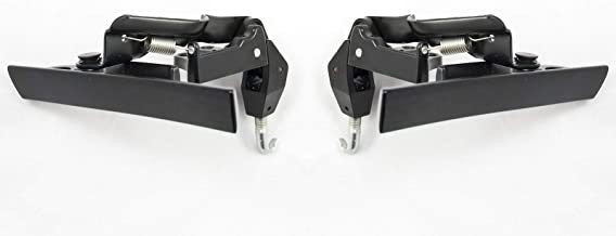 1983-1993 Mustang Convertible Top Latch Lock Handles - Pair
