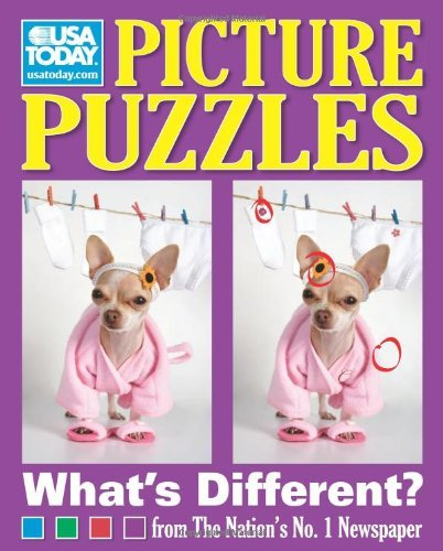 USA Today Picture Puzzles: What's Different? (USA Today Puzzles Book 9)