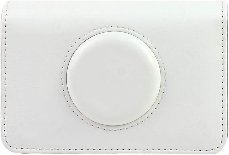 Blanc Baoblaze Housse Sac de Cam/éra en Cuir pour Snap Touch Polaroid Sac /à Bandouli/ère Unique