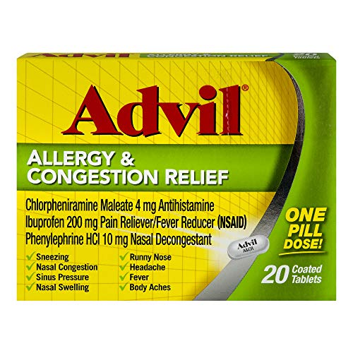Advil Allrgy Congestion R Size 20ct Advil Allrgy Congestion Relief 20ct