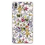 dakanna Funda Compatible con [Bq Aquaris X - X Pro] de Silicona Flexible, Dibujo Diseño [Ramo de Flores], Color [Fondo Transparente] Carcasa Case Cover de Gel TPU para Smartphone