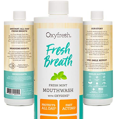 Oxyfresh fresh mint 473 ml