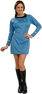 Deluxe Classic Star Strek Dress Uniform Adult Costume Blue - Medium