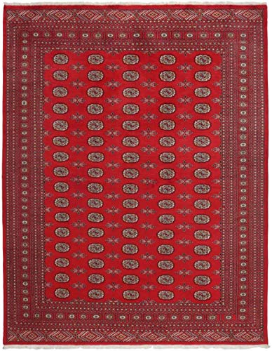 Nain Trading Pakistan Buchara 2Ply 307x244 Orientteppich Teppich Rot Handgeknüpft Pakistan