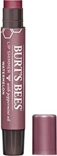 Burt's Bees Natural Moisturizing Lip Shimmer, 1 Tube Watermelon, 1 Count