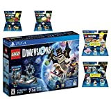 Lego Dimensions Starter Pack + The Simpsons Homer Simpson Level Pack + Bart Simpson Fun Pack + Krusty Fun Pack + Portal 2 Level Pack Playstation 4 PS4