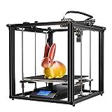 Aibecy Creality 3D Ender-5 Plus Impresora 3D Kit de bricolaje 350 * 350 * 400 mm Gran volumen de construcción con pantalla táctil de 4.3 pulgadas Placa de vidrio templado extraíble Eje doble Y eje Z