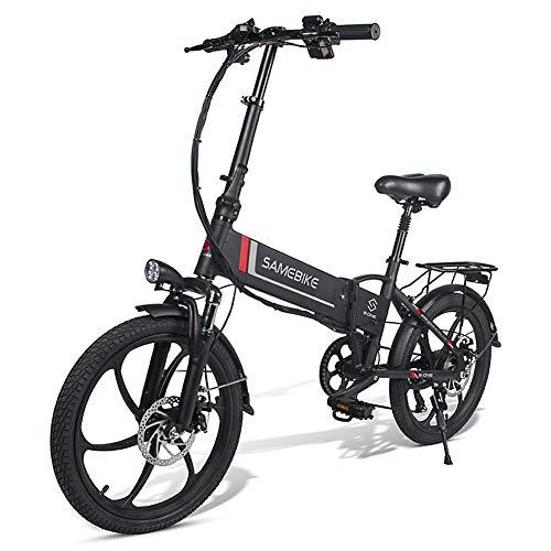 MOVIGOR Bicicleta eléctrica 350 W 20 pulgadas, aleación de aluminio, bicicleta eléctrica...