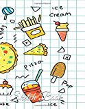 Sketchbook: Food Theme Cover Kids Paint Drawing and Creative Writing Blank Page Sketch