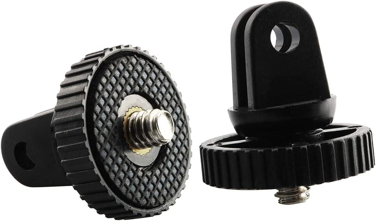 Cheap mail order sales Longdex Camera Mount Adapter Max 66% OFF Tripod Monopod 2PCS w