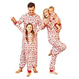 Matching Family Pajamas Christmas Sets with Dog, Matching Sets Christmas PJs for Family Organic Cotton Pajamas
