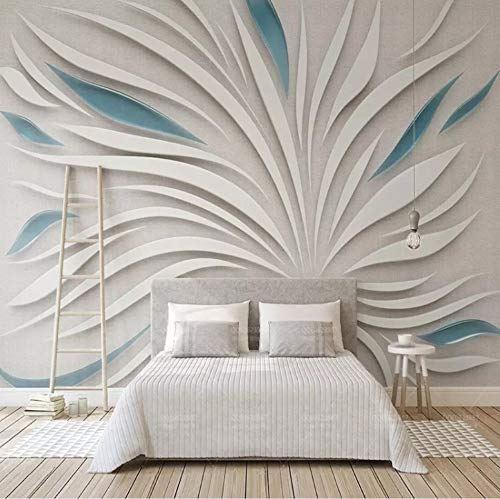 Gran mural sala de estar dormitorio wallpaper 3D en relieve arte de la pared pintura al óleo foto de encargo papel pintado rollo