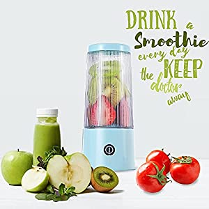 Portable Blender for Shakes and Smoothies,Portable Juicer, Mini Juicer Blender ,USB rechargeable Personal Blender, Bady Food Mixing Machine, Milk Shakes cup Blander Jet