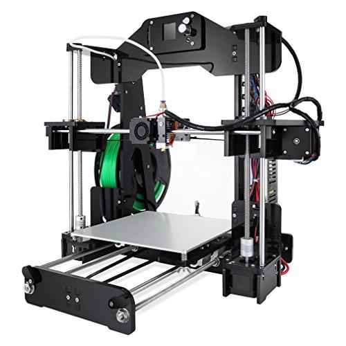 Poncherish Stampante 3D 3d printer Z1 Dimensioni Dimensioni Stampante 220x220x240mm Stampante durevole Stampante 3D fai-da-te di alta precisione US Regno Unito Spina UE