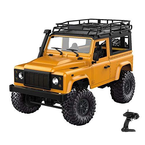 ZCYXQR Scala 1:12 Telecomando Auto 4WD 2.4G Telecomando Big Foot Fuoristrada Modello di Veicolo Militare Radiocomandato RC Truck Electr (Regalo di Compleanno per Le Vacanze)