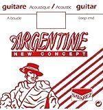 Argentine 1014 - Corde de Ré au détail à boucle Guitare Manouche - tirant 29