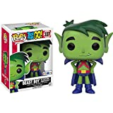 Funko Beast Boy as Martian Manhunter (Toys R Us Exclusive): Teen Titans Go x POP! TV Vinyl Figure & 1 POP! Compatible PET Plastic Graphical Protector Bundle [#337 / 10272 - B]