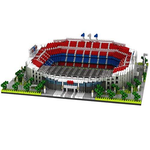 JXS Puzzle Camp NOU 3D - Nano Mini Bloques Estadio Modelo 3D