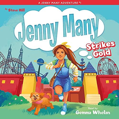 『Jenny Many and the Goshtastic Golden Treasure』のカバーアート