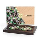 Venchi Degustación De Chocolates Cremino Presentada En Una Caja De Regalo - Clásico 1878, Chocolate Negro Y Con Pistachos - Sin Gluten 255 g