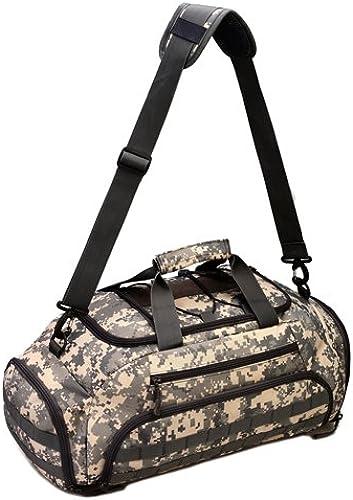 JWBB Sac de voyage de camouflage, étanche sac d'épaule, les sports de plein air, fitness, chaussures indépendentifs, seul sac d'épaule.Sac de voyage de camouflage, étanche sac d'épaule, les sports de plein air, fitness, chaussures indépendentifs, seul sac