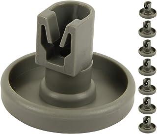 comprar comparacion McFilter Rodillos de la cesta inferior para lavavajillas (8 piezas) adecuados para AEG Favorit, Privileg, Zanussi y mucho ...