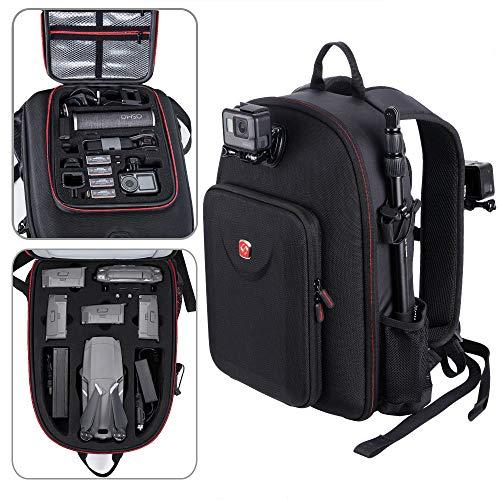 Smatree Backpack Compatible with DJI Mavic 2 Pro/Zoom/Osmo Pocket/OSMO Pocket Charging Case/DJI Osmo Action/Gopro Hero 7/6/5