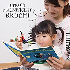 WOW! STUFF The Room On The Broom Story Time Set | Collectable Articulated Character Action Figures | Official Toys and Gifts from The Julia Donaldson and Axel Scheffler Books and Films #4